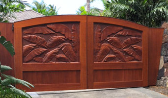 Carved Doors and Cabinets
