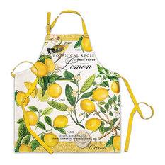 Michel Design Works Chef Apron, Lemon Basil