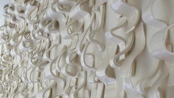 Waves, Ceramic Wall Installation