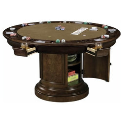 Traditional Game Tables by Interior Clue
