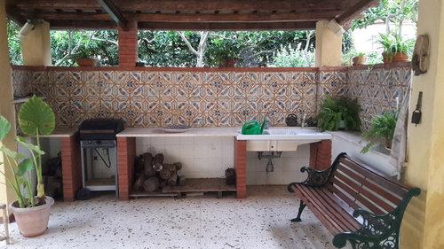 Maioliche antiche in veranda. quale pavimentazione scegliere?