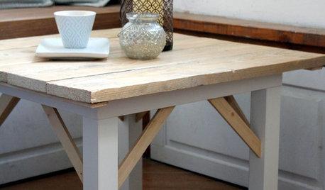 Ikea Hack: Il Tavolino Lack in Stile American Country