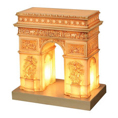 Great Places Arc De Triomphe Table Lamp - French Champs Elysees Landmark Light