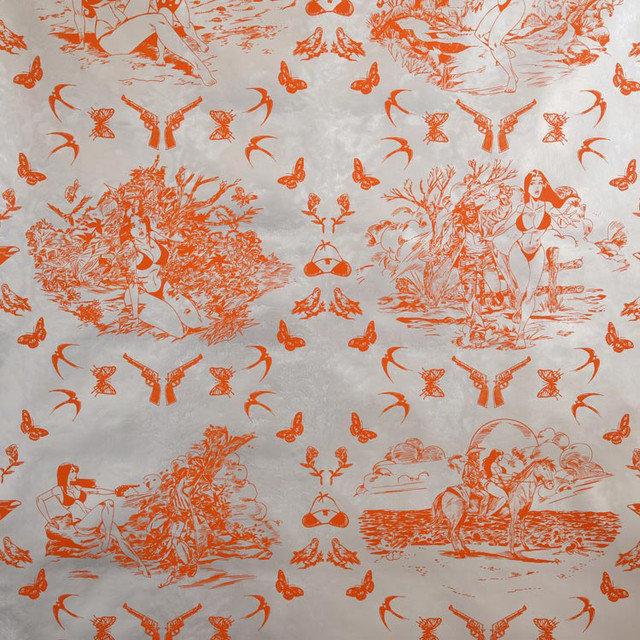 Flavor paper sassy toile wallpaper