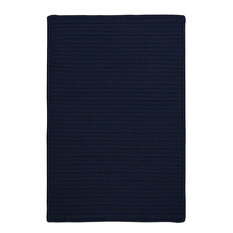 Colonial Mills, Inc - Colonial Mills Simply Home Solid Navy Square 12' Area Rug - Outdoor Rugs