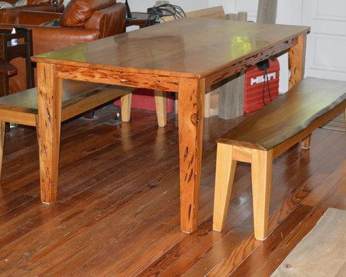 sinker cypress dining table. Black Bedroom Furniture Sets. Home Design Ideas