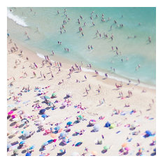 """Beach Love II"" Print on Wrapped Canvas by Ingrid Beddoes"