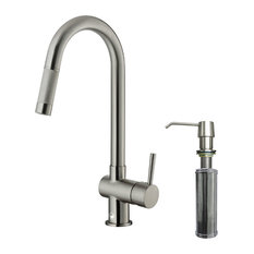 contemporary kitchen faucets houzz. Black Bedroom Furniture Sets. Home Design Ideas