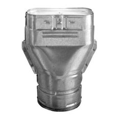 "DuraVent 5GWARO 5"" Oval Gas Vent Type B Adapter"