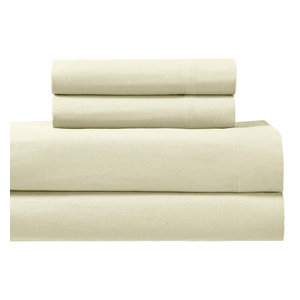 Heavyweight Deep Pocket Flannel Sheet Set Contemporary Sheet And Pillowcase Sets By Wholesale Beddings