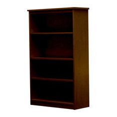 Lexington Bookcase 12x30x48 Natural Teak