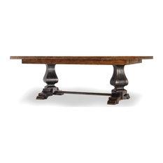 Sanctuary Refectory Table Ebony and Drift