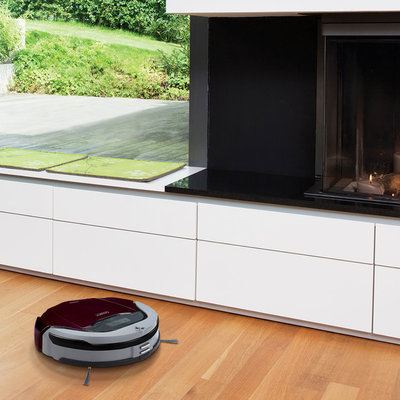 Contemporary Living Room by ECOVACS