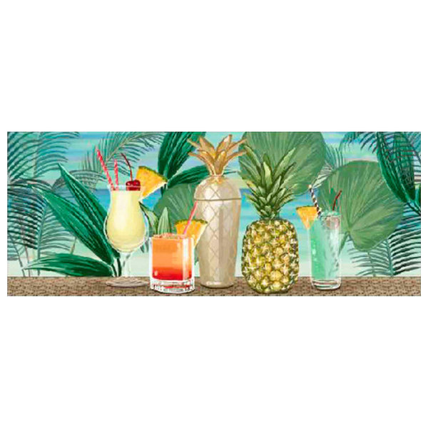 Liora Manne Illusions Patio Party Indoor/Outdoor Mat, Tropical, 23