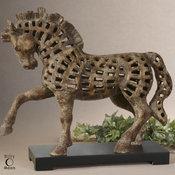 Uttermost Prancing Horse Sculpture