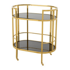 Eichholtz Townhouse Bar Cart, Gold
