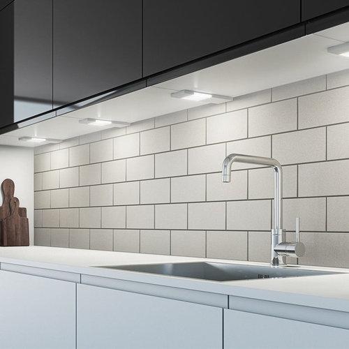 Slim Profile SLS LED Under Cabinet Strip Light - Undercabinet Lighting - Kitchen Under Cabinet Lighting Ideas