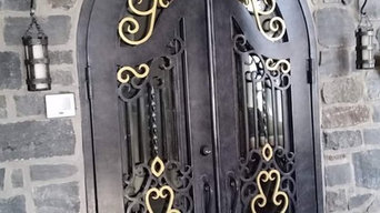 Residential Iron Door