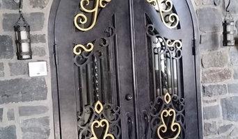 Residential Iron Door