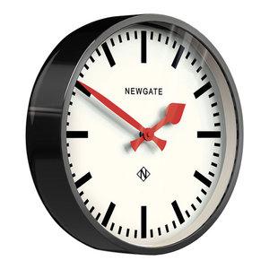 Newgate The Luggage Wall Clock, Black