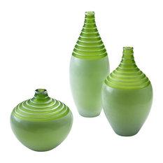 Cyan Design Small Meadow Vase, Green