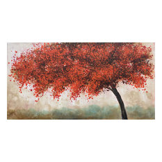 """Autumn Tree II"" Oil Painting"