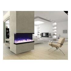 """Tru-View Series Indoor/Outdoor Electric Fireplace, 40"""""""
