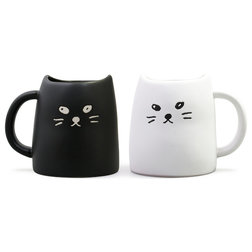 Contemporary Mugs by Miya Company