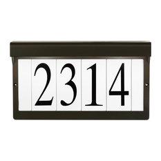 kichler kichler lighting 2light xenon address light olde bronze house numbers