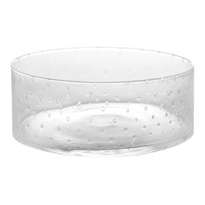 Seeded Classic Glass Salad Bowl, Short