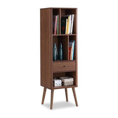 FastFurnishings10   Mid Century Modern Classic Bookcase Sideboard Cabinet    Bookcases