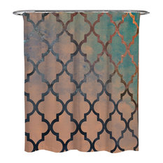 """Oliver Gal """"Amour Arabesque"""" Shower Curtain, 71""""x74"""""""