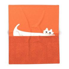 """Mark's Superpower, Cat Superstretch Blanket, 51""""x60"""""""