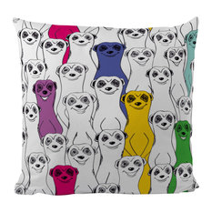 Group of Meerkats Scatter Cushion