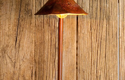 Laurel Bay Pipe and Shade Sconce