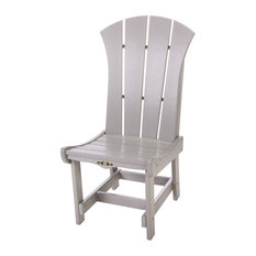 Pawleys Island Durawood Sunrise Dining Chair, Gray