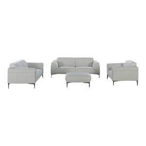 Constantin 3 Piece Motion Living Room Set Contemporary