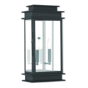Princeton 2-Light Wall Lantern, Black