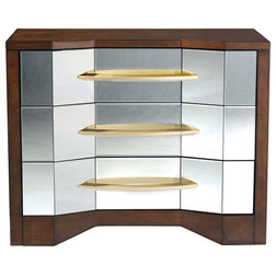 Transitional Accent Chests And Cabinets by BASSETT MIRROR CO.