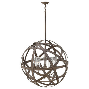 Carson Outdoors Chandelier, 5 Lights