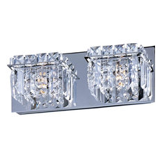 Bathroom Sconces With Bling bling bling wall sconce | houzz