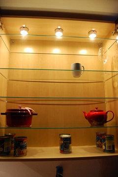 Internal cabinet lights - low voltage vs  line voltage