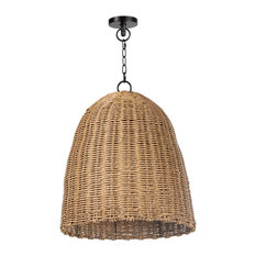 Beehive Outdoor Pendant Small, Natural