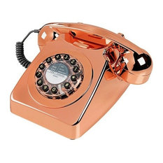 Wild & Wolf Series 746 Telephone, Copper