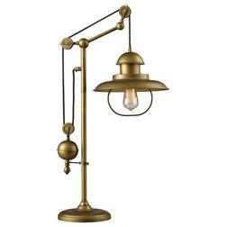 Unique Farmhouse Table Lamps by Zeckos