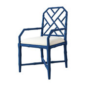 Bungalow 5 Jardin Armchair in Navy Blue