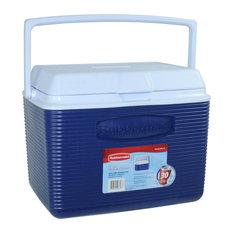 Rubbermaid 24 Quart Modern Blue Personal Cooler