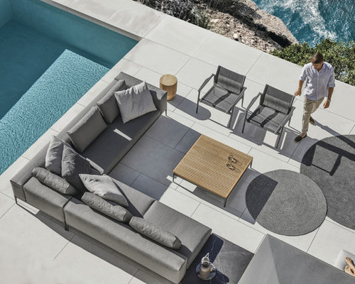 Stylish Outdoor Entertaining Ideas : Outdoor Dining and Outdoor Seating - Outdoor Lounge Furniture
