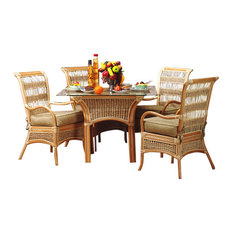 Spice Island 5-Piece Dining Set, Standard, Cream