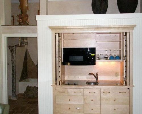 unfitted minikitchen armoires,